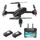 RC Drone with FPV Camera 720P HD Live Video Feed 24GHz 6 Axis Gyro Quadcopter