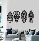 Vinyl Wall Decal Mayan Face Native Mask Ethnic Art Tradition Stickers g2628