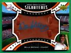 2007 Sweet Spot Classic WILLIE McCOVEY Auto AUTOGRAPH LEATHER (HOF) Giants 20 25