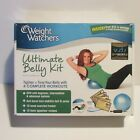 Weight Watchers Ultimate Belly Kit DVD  Mini Stability Ball Tone New Sealed