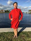 100 Cashmere Sweater Coat Handmade Funky Hippie Sz XL Inspired By Katwise