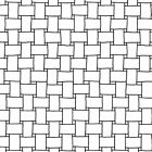 Andover Opposites Attract Basketweave White Geometric 100 Cotton 44 45A 9059 X