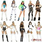 Space Astronaut Woman Costume Ladies Futuritic Party Halloween Star War Outfit