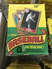 1987 O Pee Chee OPC Baseball Card Unopened Box Just pulled from case
