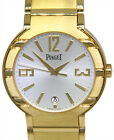 Piaget Polo 18k Yellow Gold Mens 38mm Automatic Watch on Bracelet +Box P10113