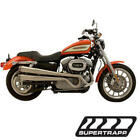 XR Style Full Exhaust System Supertrapp 815 71202 For 04 13 Harley Davidson XL