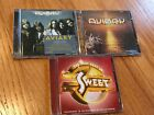 3-CD Lot Aviary s/t/Ambition/Sweet The Very Best Of Brad Love Progressive-Power