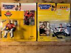 MARTIN BRODEUR Starting Lineup Lot 1995 & 1997 Editions. Red & White Jerseys.
