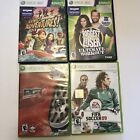 Xbox 360 Game lot Kinect Adventures Biggest Loser FIFA Soccer 09 PGR 4 Gotham