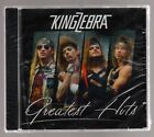 KING ZEBRA: GREATEST HITS CD BRAND NEW SLEAZE GLAM HARD ROCK RARE OUT OF PRINT