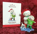 HALLMARK 2015 MAKING MEMORIES SERIES ORNAMENT #8~CHILLIN' TOGETHER