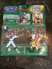 Peyton Manning Colts  & Archie Manning (Saints) Starting Lineup Classic Double -