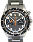 Tudor Heritage Chronograph Steel Gray Dial Mens 42mm Watch Box/Papers 70330
