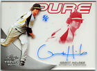 2014 Leaf Trinity Pure Glass GRANT HOLMES Red Ref Acetate Auto 5 ATHLETICS As