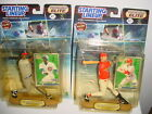 2 STARTING LINEUP ELITE SAMMY SOSA CHICAGO CUBS MARK MCGWIRE ST. LOUIS CARDINALS