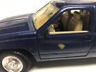 Chevy dually pick up truck blue 124 scale diecast used unbranded