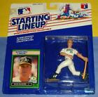 1989 MARK MCGWIRE #25 Oakland Athletics NM- A's Bash * FREE s/h* Starting Lineup