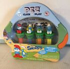 Pez Click and Play The Smurfs Sour Blue Raspberry Candy