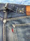 LEVI BUCKLE BACK Big E JEANS 34x28 Reproduction Vintage