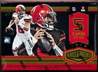 2018 Panini PLATES & PATCHES Football Factory Sealed HOBBY Box