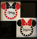 Minnie Mouse Decal With Name