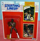 1990 JAMES WORTHY Los Angeles LA Lakers #42 NM * FREE s/h * Starting Lineup L.A.