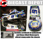 AUTOGRAPHED CHASE ELLIOTT 2018 DOVER WIN RACED VERSION NAPA 1 24 RCCA ELITE