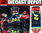 JEFF GORDON 1997 CHARLOTTE WIN RACED VERSION 1 24 ACTION