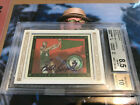 Bill Russell Auto 6 25 2008-09 Topps T-51 Murad Framed Mini signed autograph SSP