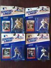 Starting Lineup 1988 Carded Lot Glenn Davis Pete Incaviglia Joe Carter Steve Sax