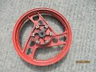 YAMAHA RD 350 YPVS  N/F  F1/N1  REAR WHEEL RED O/E  2.50 X 18