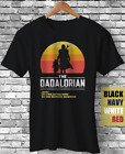The Dadalorian Funny Fathers Day Gift T Shirt best dad movie meme fatherhood tee