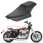 2 Up Driver Passenger Seat For Harley Sportster Iron XL 883 XL1200 48 72 2004 19