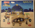 Fisher Price Little People Nativity Set lights and plays Away in a Manger