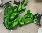Bodywork Green Fairing Fit for Kawasaki Ninja ZX14R 2006-2011 ZZR1400 ABS z045