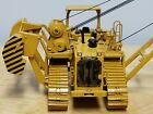 Classic Construction Models Caterpillar 587T Crawler Pipe Layer Dozer