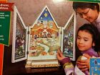 Kurt Adler Lighted Musical Stained Glass Look Nativity Advent Calendar