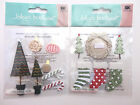 Christmas Themed Decorations Scrapbook Stickers