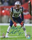 Malcolm Butler New England Patriots Signed 8