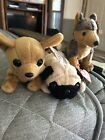 Beanie Baby Lot (Sarge, Pugsley and Tiny)