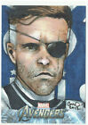 Avengers Assemble Marvel 2012 Sketch Card 1 of 1 Nick Fury by Artist Bard 1 1