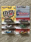 MARS Candy MM Dove Snickers Musketeers Hot Wheels 2013 SIX 6 Set POP CULTURE