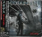 MEGADETH DYSTOPIA JAPAN 2015 SHM CD+1 - BRAND NEW/FACTORY SEALED - OUT OF PRINT