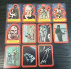 Star Wars Series 2 Red 1977 Vintage Sticker Set Sticker Cards #12-#22 Topps NM