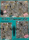 40 Pc Lot Of Mixed Pendants Charm Connectors Jewelry Making Supplies Finding