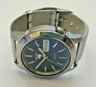 Mens Seiko 5 Automatic Stainless Steel 7S26-02W0 Watch 21 Jewels Boxed