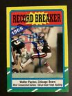 Walter Payton Football Cards, Rookie Card and Autograph Memorabilia Guide 84