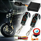 Motorcycle 2 Way Anti-theft Alarm Remote Engine Start Sensing Alarm Theft System