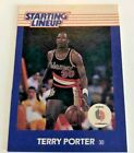 Desirable Regional 1988 Terry Porter Portland Trailblazers Starting Lineup CARD