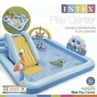 Intex Inflatable Jungle Adventure Play Center Kids Toys Water Pool Slide Kiddie